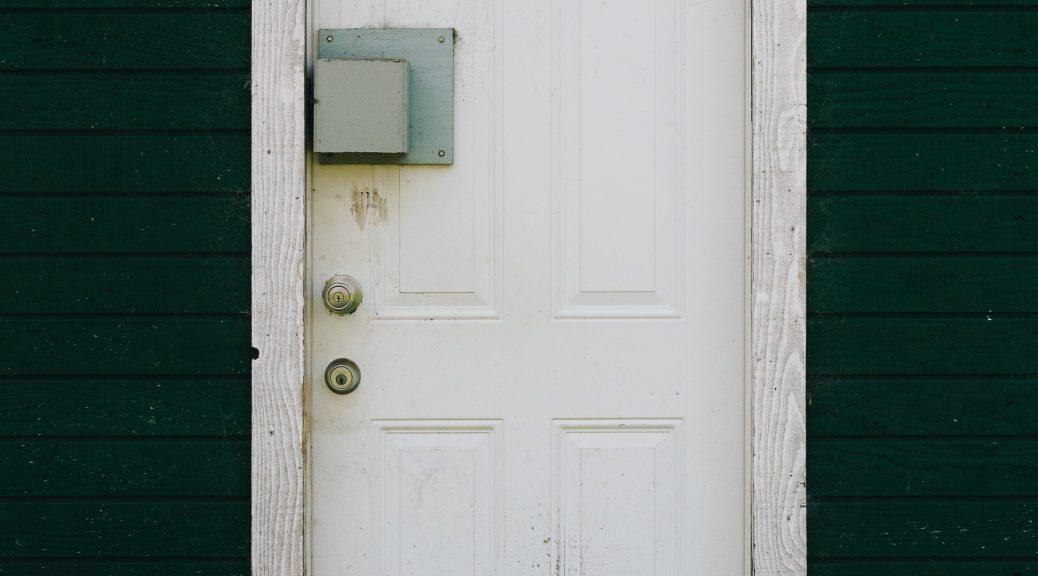 tampered door