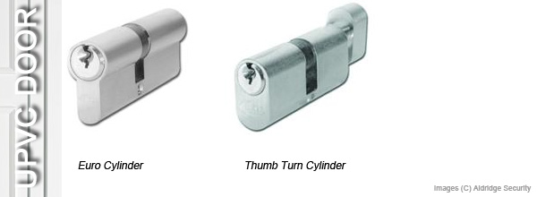 UPVC Door Locks - Euro Cylinder, Thumb Turn Cylinder