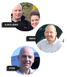 Birmingham Locksmiths - Steve, Simon and Alan