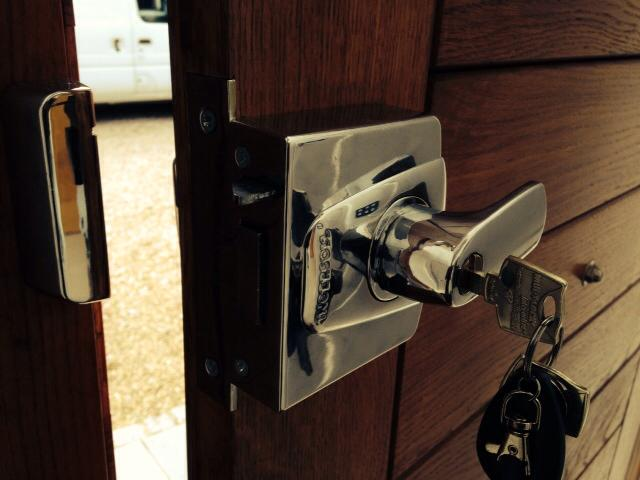 High Security Locks Fitted