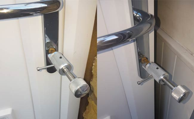 Picking Door Lock Close Up - Manchester Locksmith Services
