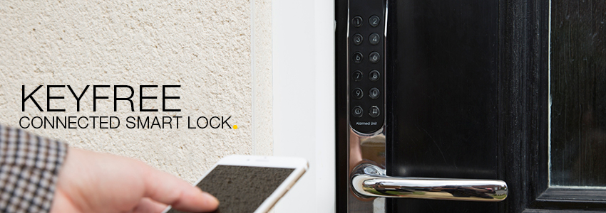 Keyfree Connected Smart Lock