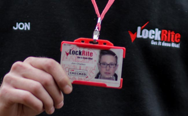 Locksmith ID Badge