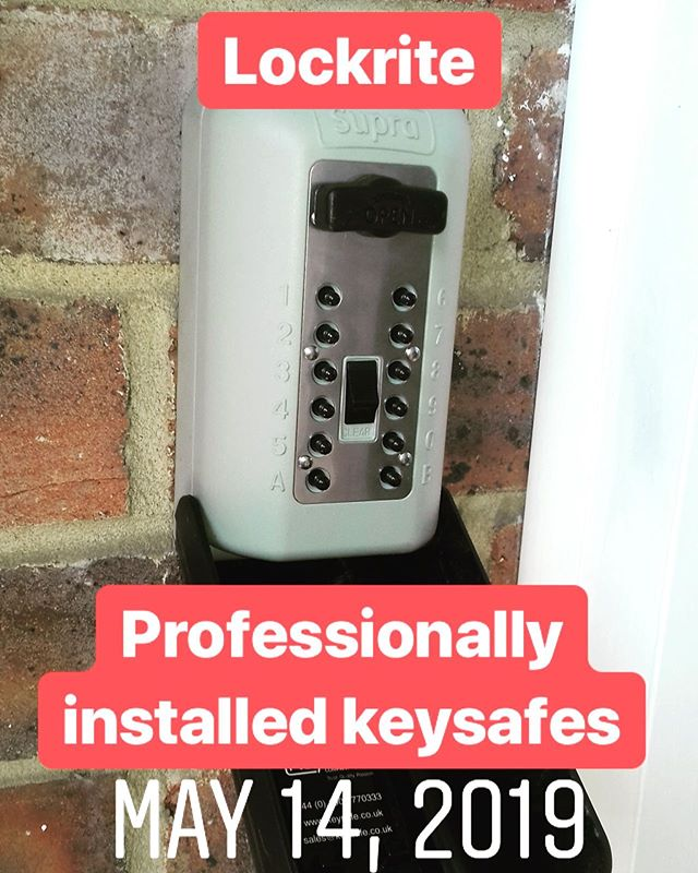 Key safe fitted