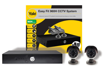 Yale Easy Fit HD CCTV Kit