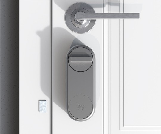 Yale Linus Smart Lock Installed - Silver