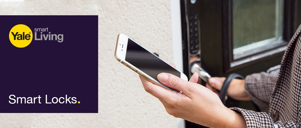 Yale Smart Keyless Lock - Using App To Unlock Door