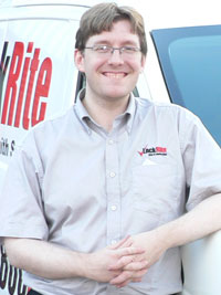 I'm Gareth, Your LockRite Exeter Locksmith