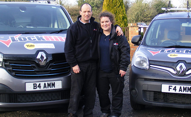 Alan and Jenny - Family Locksmiths